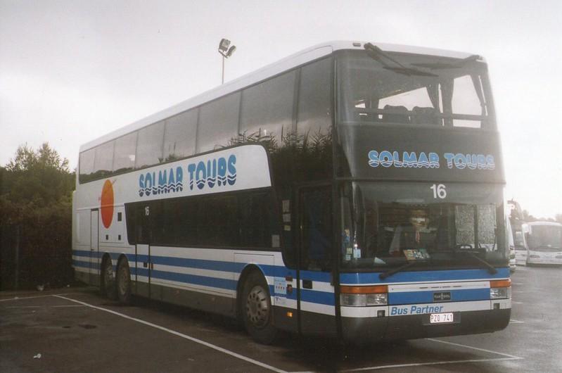Tiener reis Salou bus
