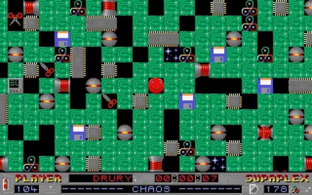 Supaplex 90's computers games