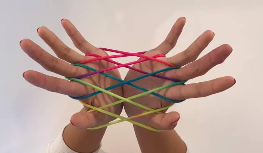 Ztringz touwtje knopen touwfiguren