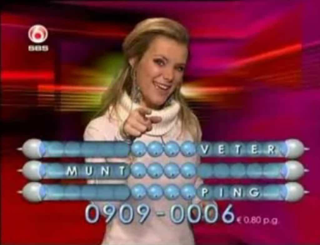 Belspelletjes SBS6 vroeger