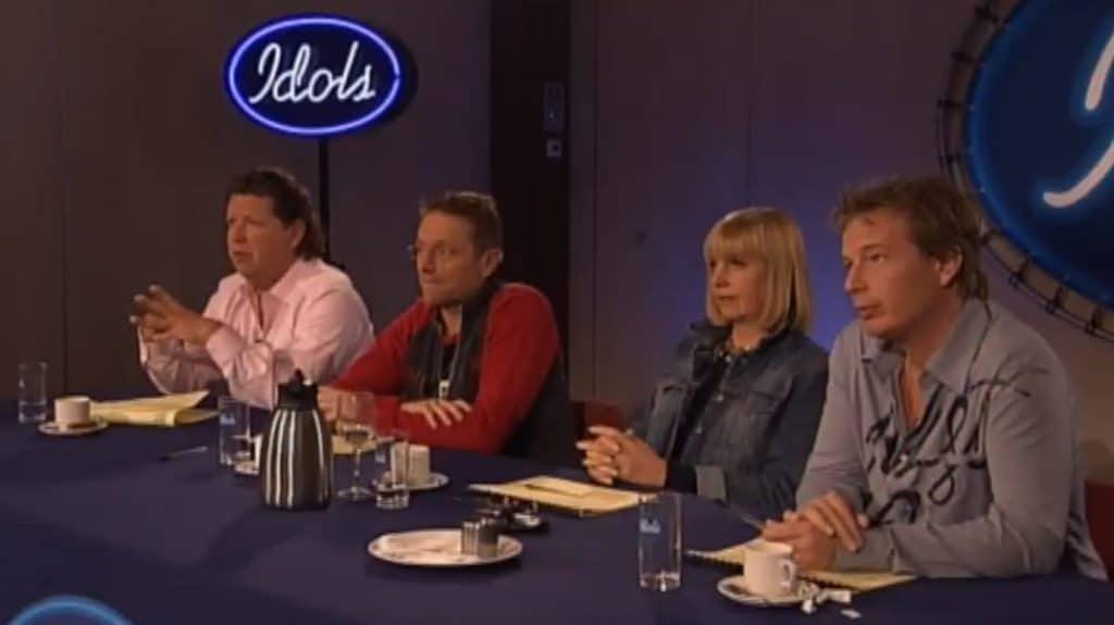 Idols 1 televisie talentenjacht vroeger