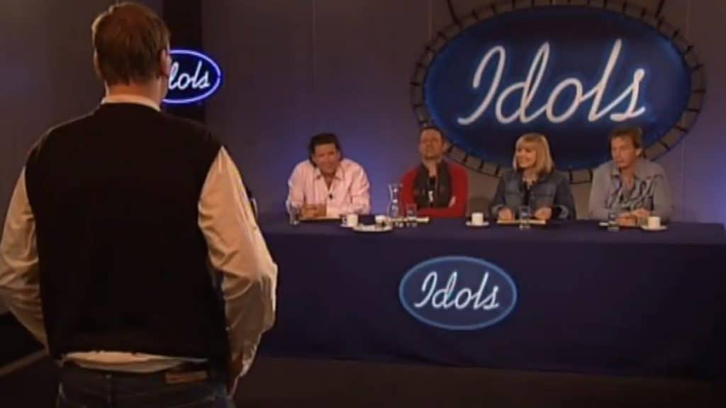 Idols 1 televisie talentenjacht vroeger auditie
