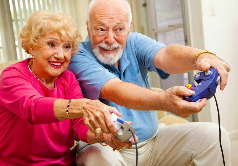 Oudere generatie verloren ouderen gamen