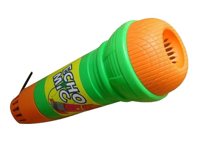 Echo Microfoon vroeger speelgoed