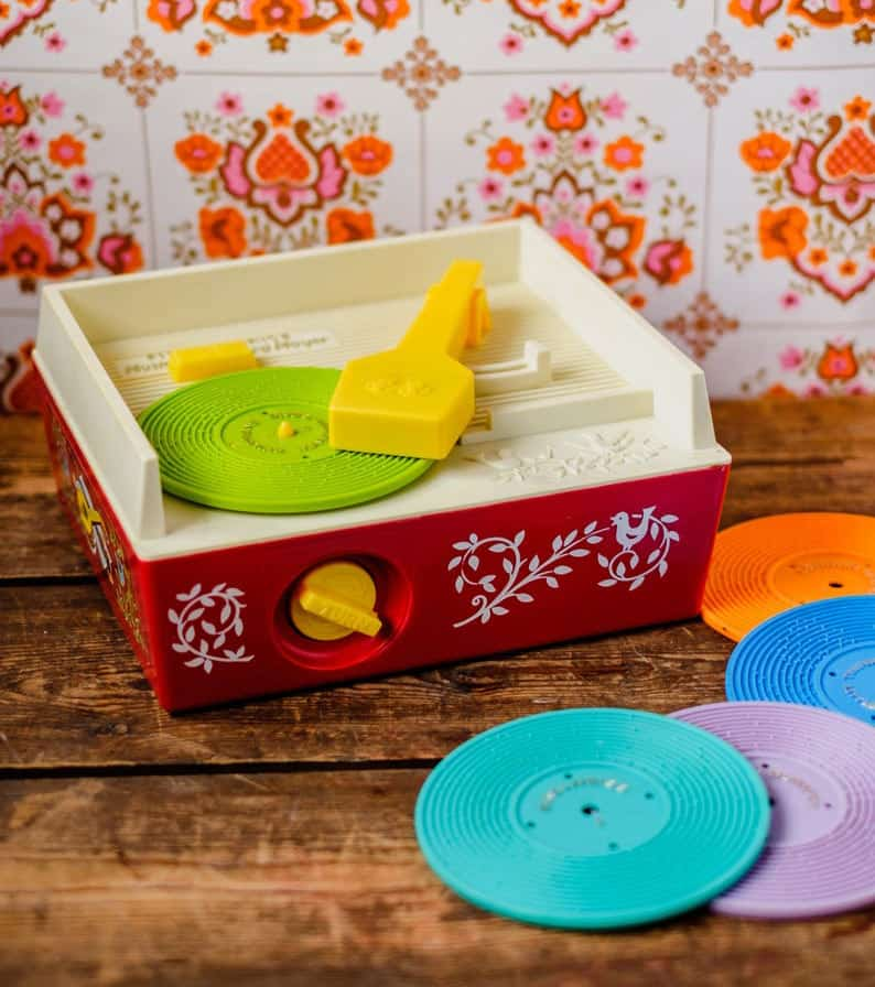 Fisher Price Music Box Lp speler