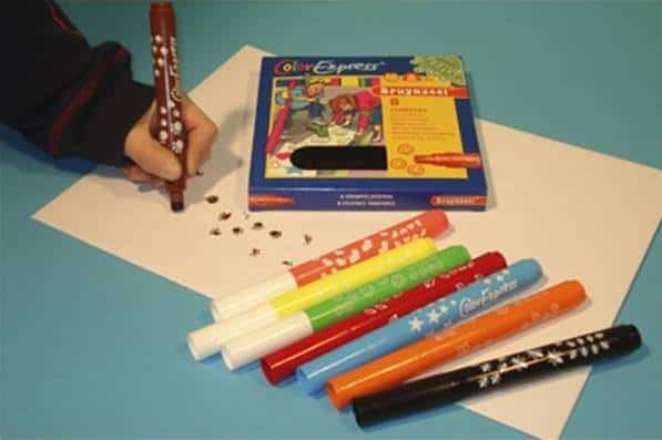 Stempelpennen pen vroeger