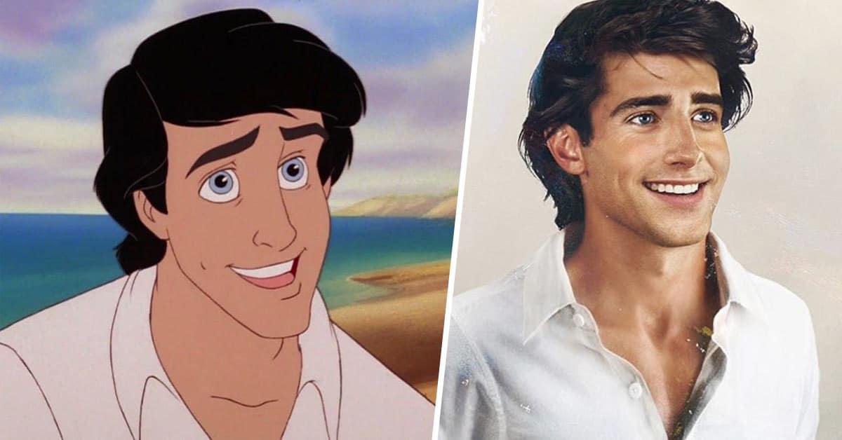 Disney prinsen in het echt