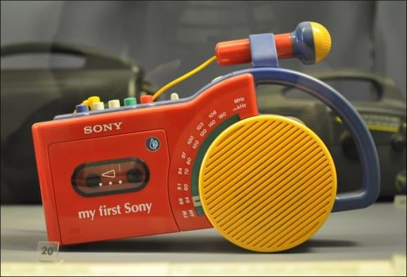 My First sony opnemen recorder vroeger