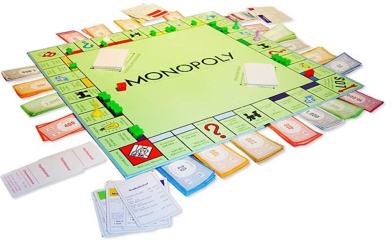 Monopoly gezelschapsspel spel bordspel vroeger