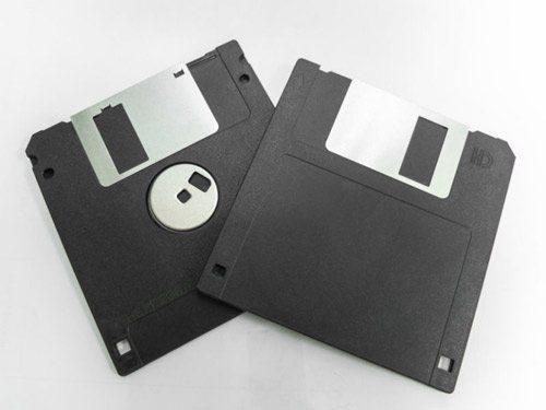 Floppy disc computer vroeger
