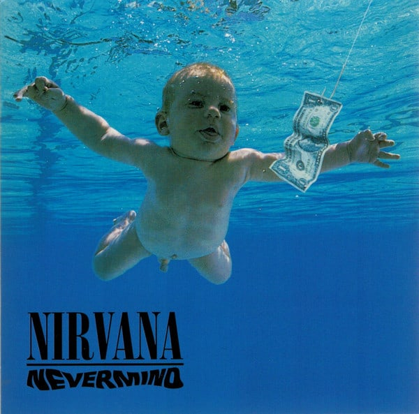 Nirvana Nevermind cover CD vroeger