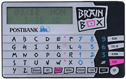 Bankengadget bank brainbox