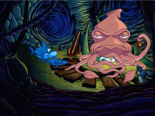 Freddi Fish computerspel vroeger