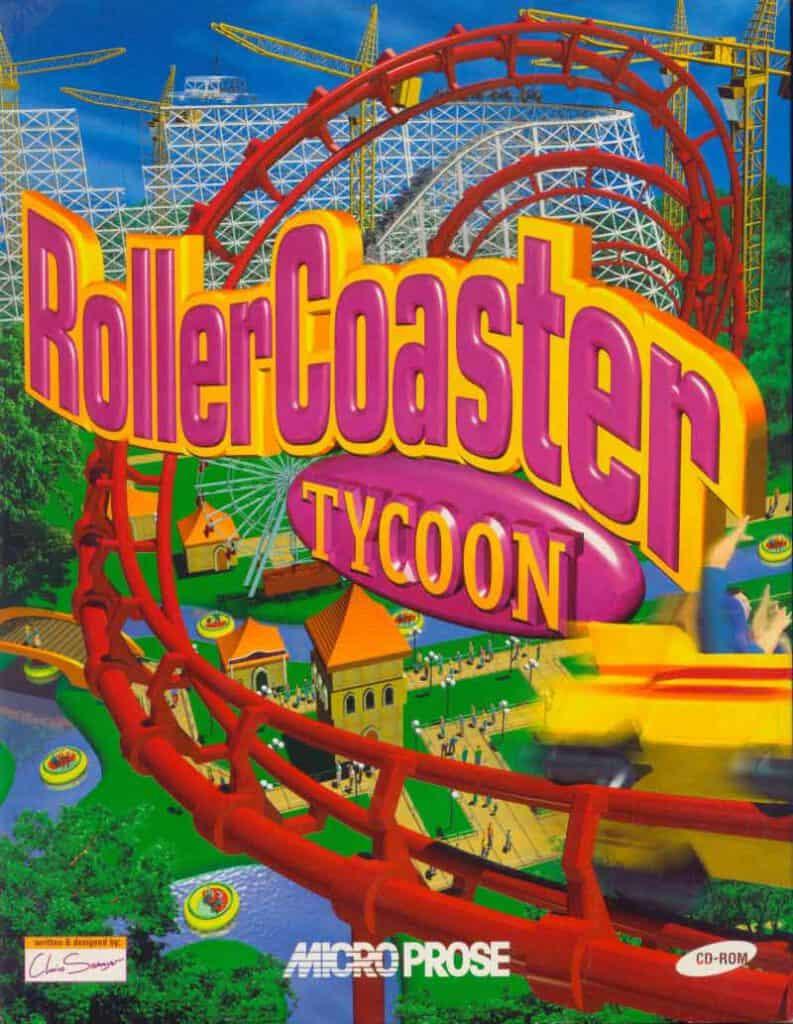 RollerCoaster Tycoon spel