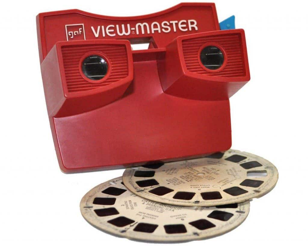 Viewmaster speelgoed vroeger