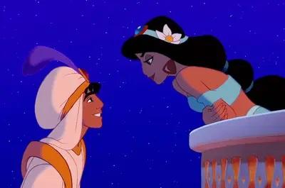 Disney pinsessen echt haar Aladdin Jasmine