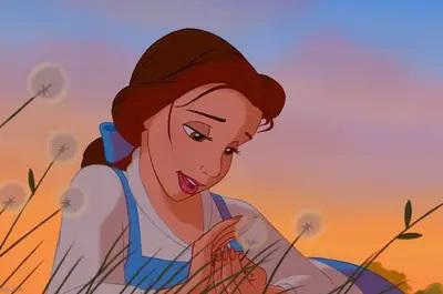 Disney pinsessen echt haar Belle en het beest