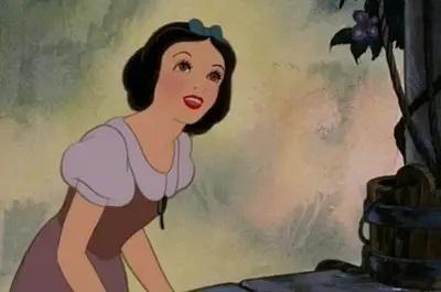 Disney pinsessen echt haar Sneeuwwitje