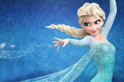 Elsa Disney pinsessen echt haar