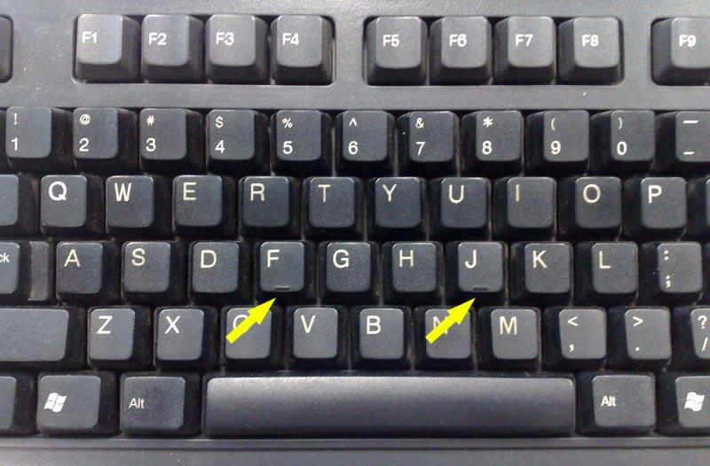 Keyboard indicatoren