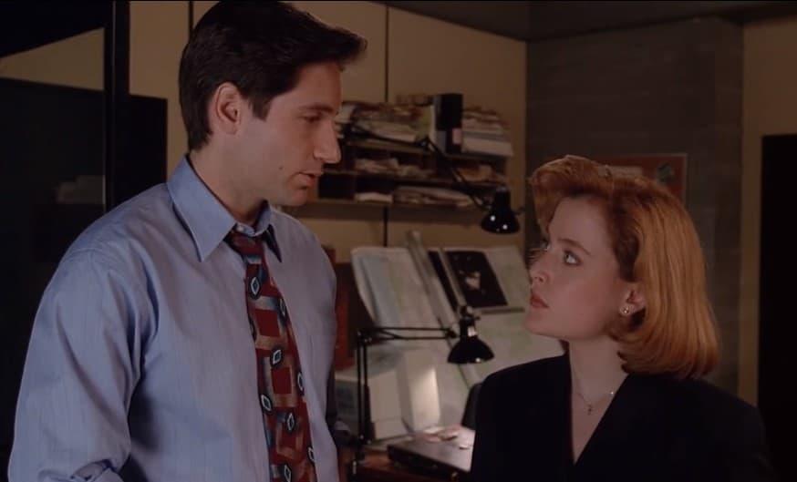 X-files serie enge zaken vroeger Scully Mulder