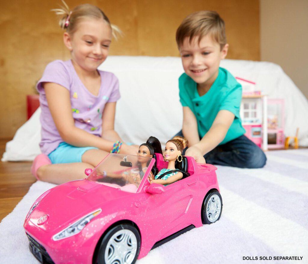 Barbie Cabrio auto speelgoed