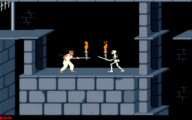 Prince of Persia spel game vroeger