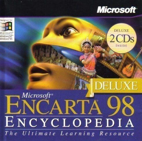 Encarta encyclopedie windows 95 vroeger