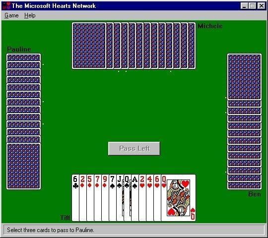 hartenjagen windows 95