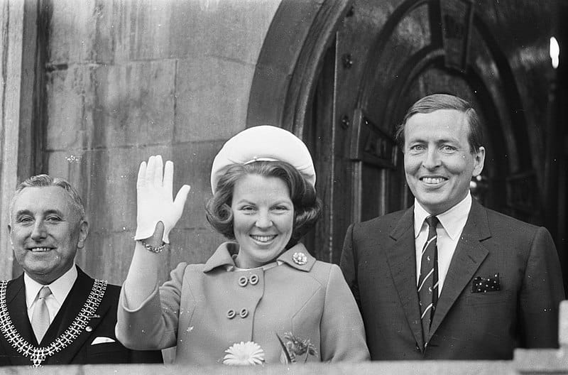 Beatrix Prins Claus tv momenten vroeger