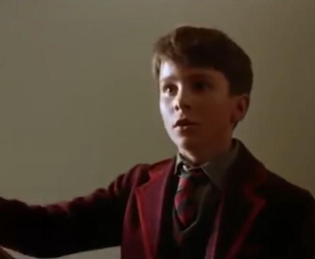 Christian Bale vroeger jong kind