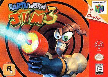 Earthworm Jim Nintendo 64