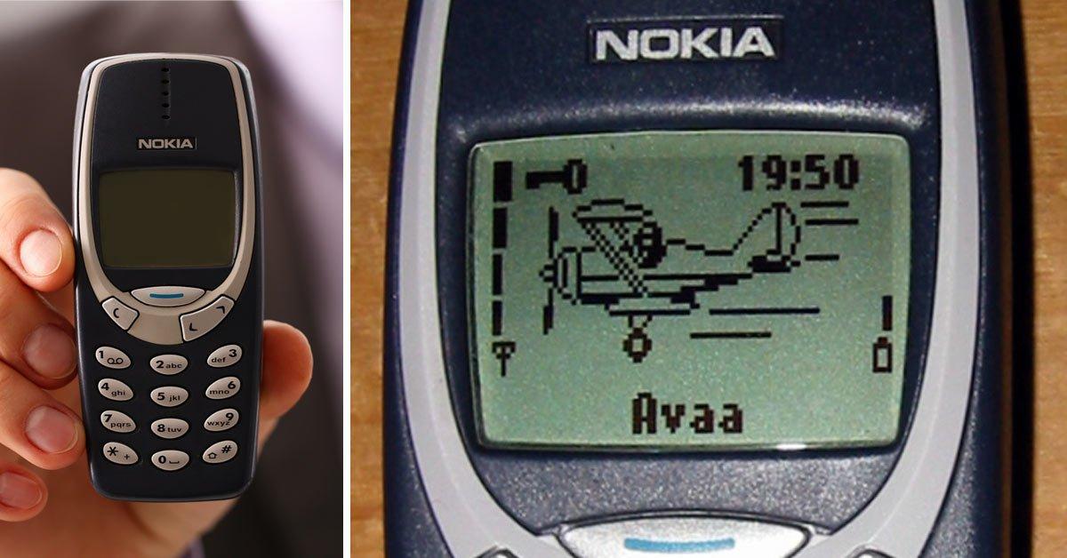 Nokia 3310 telefoon vroeger mobieltje bellen