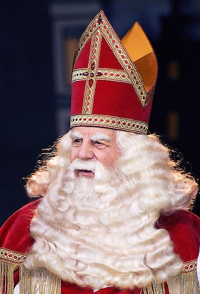 Sinterklaas Bram van der Vlugt vroeger