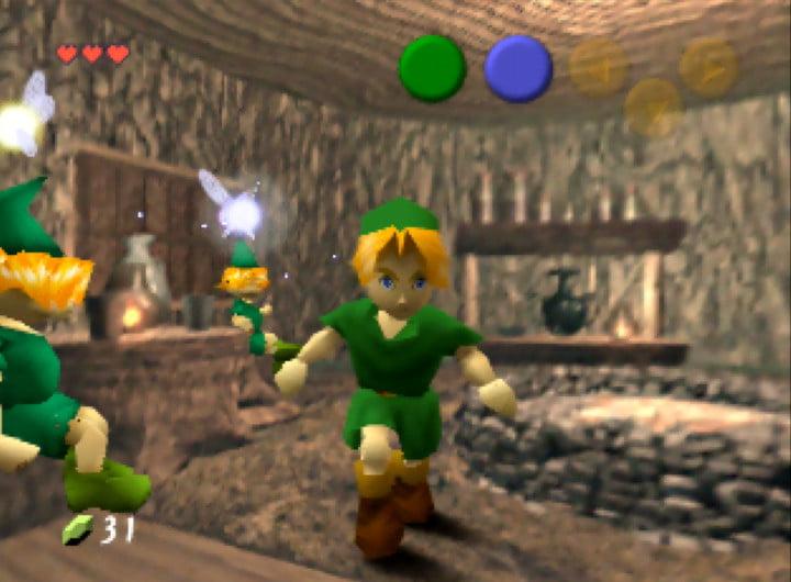 Zelda Nintendo 64 game N64