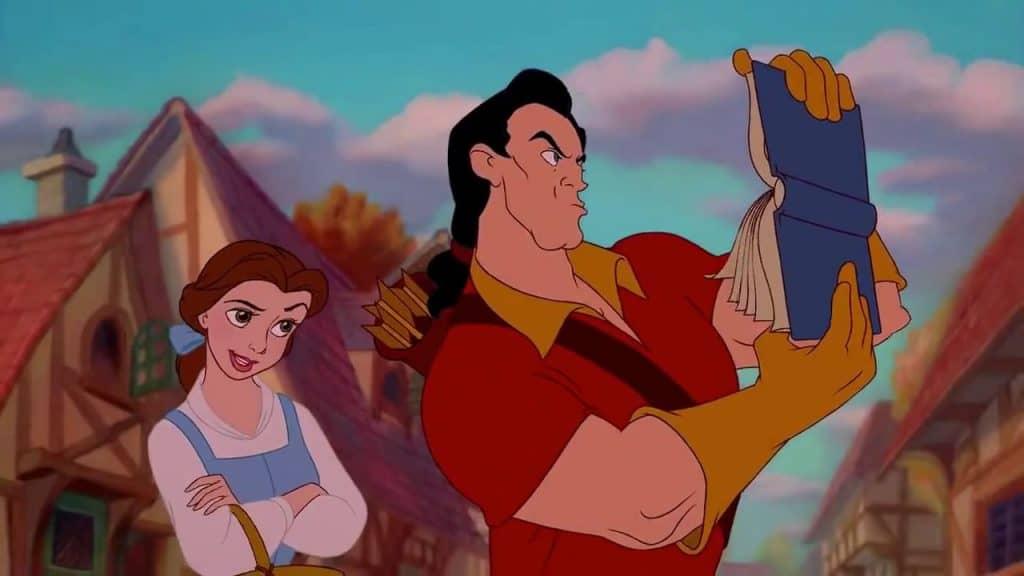 Gaston boek Belle en het Beest