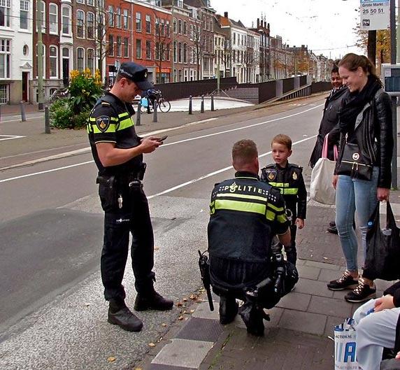 Politieman beroepen vroeger later kind