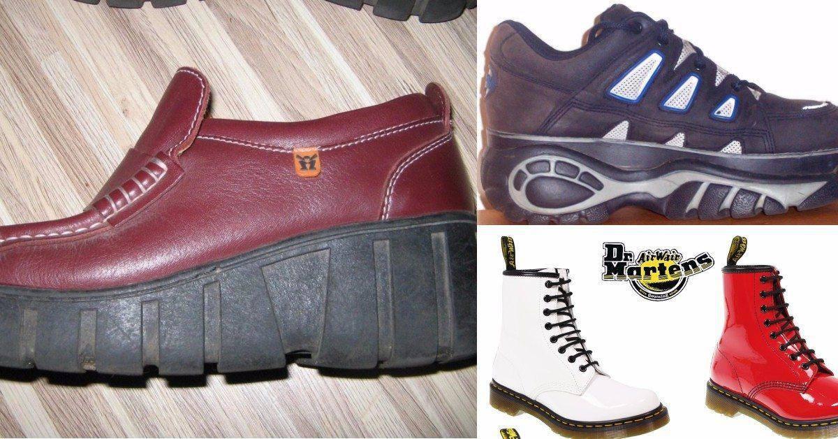 17 schoenen die je vroeger droeg, maar nu nooit meer zou