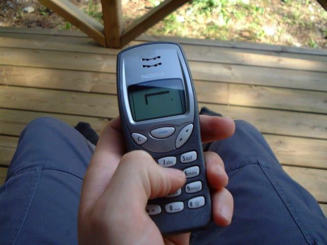 Snake spel nokia 3310