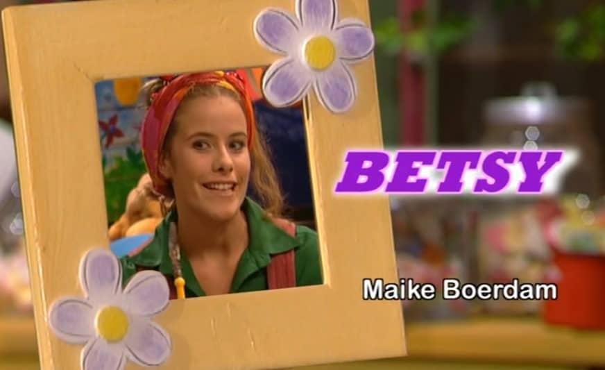 Big Betsy show cast vroeger serie Maike Boerdam