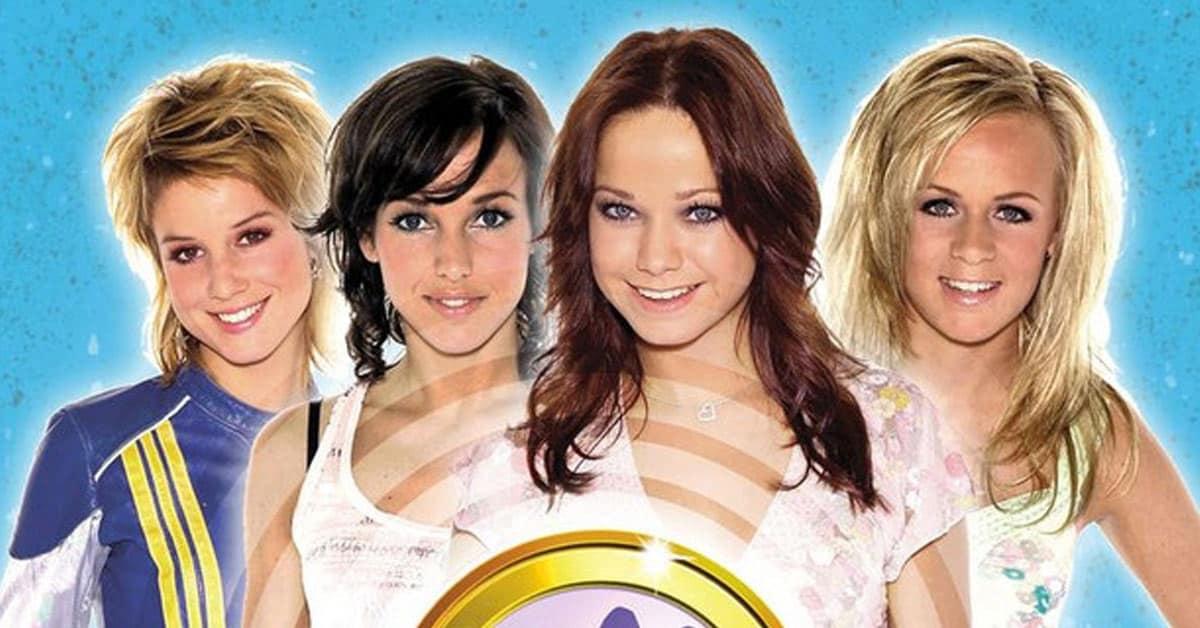 Kus meidengroep band vroeger