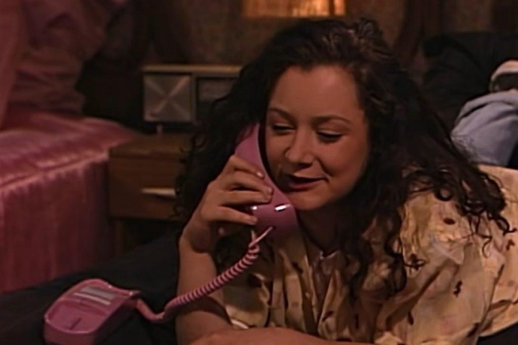 Roseanne telefoon vroeger kamer