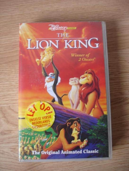 lion king video