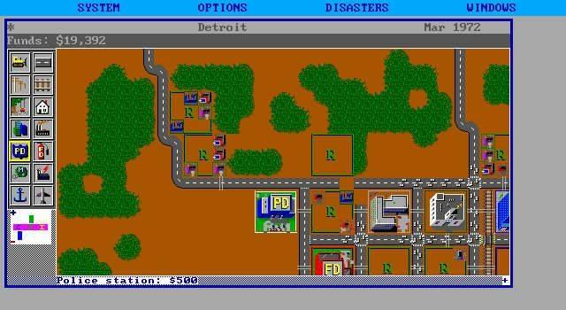 simcity tycoon game vroeger