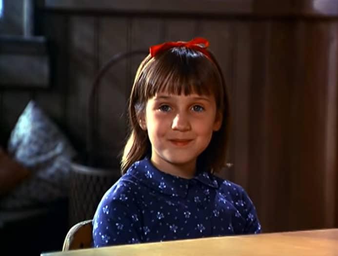 Matilda film vroeger