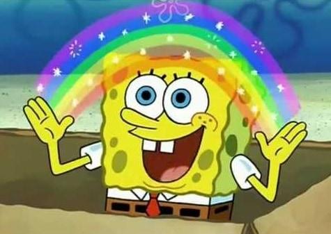 Spongebob squarepants tekenfilm cool imagination