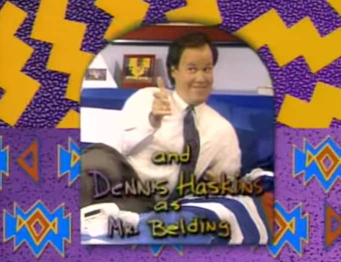 Cast Saved by the bell Mr Belding