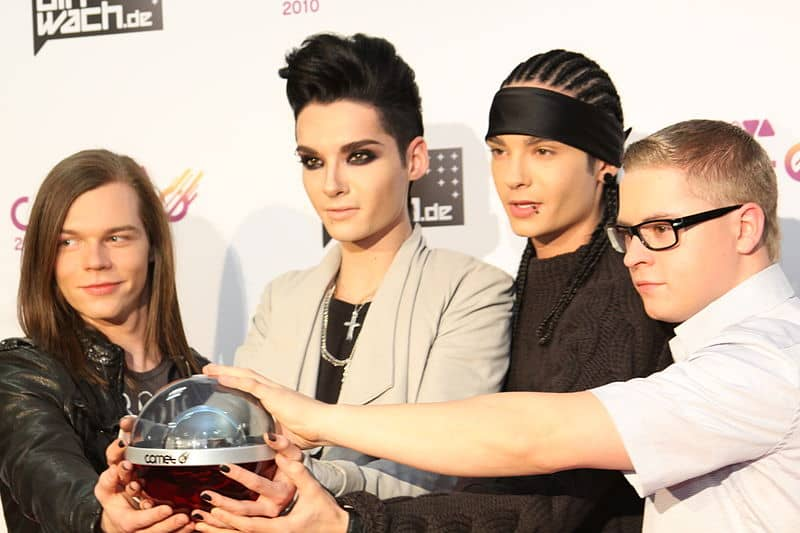 Tokio Hotel band vroeger
