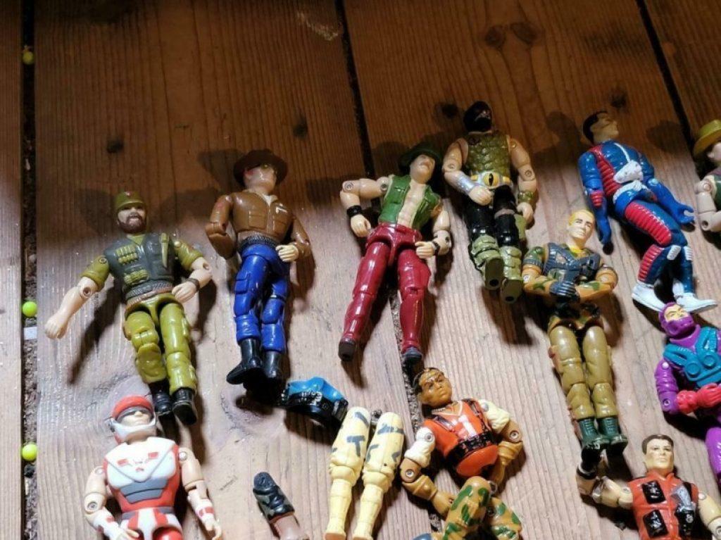GI Joe speelgoed poppetjes vroeger
