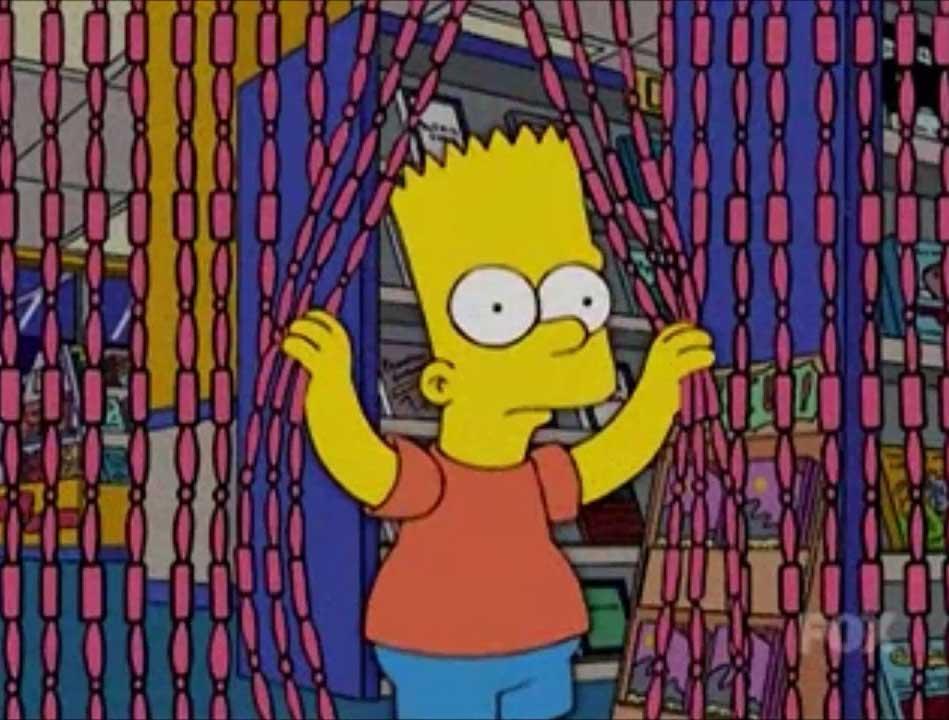 Simpsons videotheek